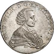1 Thaler - Friedrich Wilhelm von Westfalen (Konventionstaler) – obverse
