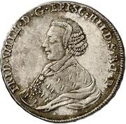 ½ Thaler - Friedrich Wilhelm von Westfalen – obverse