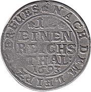 1/12 Thaler - Jobst Edmund von Brabeck – reverse