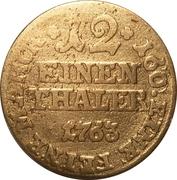 1/12 Thaler - Friedrich Wilhelm von Westphalen – reverse
