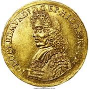 1 Ducat - Bishop Jobst Edmund von Brabeck – obverse