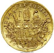 1 Ducat - Bishop Jobst Edmund von Brabeck – reverse