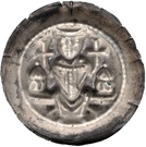 1 Brakteat - Konrad II and Heinrich I. – reverse