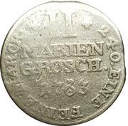 2 Mariengroschen (Friedrich Wilhelm von Westfalen  1763 - 1789)) – reverse