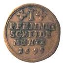 1 Pfennig - Jobst Edmund von Brabeck – reverse