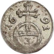 3 Pfennig - Jobst Edmund von Brabeck – reverse