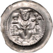 1 Brakteat - Konrad II and Heinrich I. – obverse