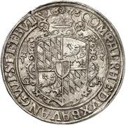 ½ Thaler - Ferdinand von Bayern – reverse