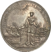 Medal - 200 year celebration of the reformation (Hildesheim) – obverse