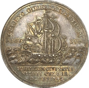Medal - 200 year celebration of the reformation (Hildesheim) – reverse