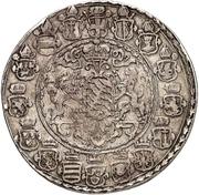 1 Thaler - Ernst von Bayern (Kardinalsjubiläum) – reverse