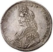 1 Thaler -  Jobst Edmund von Brabeck – obverse