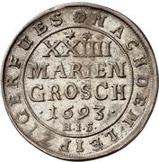 24 Mariengroschen - Jobst Edmund von Brabeck – reverse