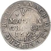 6 Mariengroschen - Jobst Edmund von Brabeck – reverse