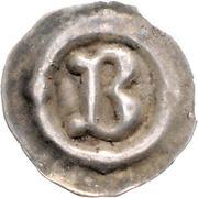 1 Pfennig (Buchstabenpfennig) – obverse