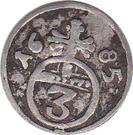 3 Pfennig – reverse