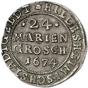 24 Mariengroschen – reverse