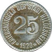 25 Pfennig - Hildesheim – obverse