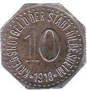10 Pfennig - Hildesheim – obverse