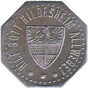 10 Pfennig - Hildesheim – reverse