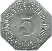 5 Pfennig - Hildesheim – obverse