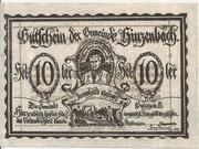 10 Heller (Hinzenbach) -  obverse