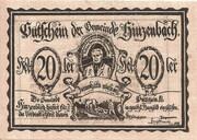20 Heller (Hinzenbach) – obverse
