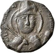 Dirham - Qutb al-Din Sukman II (Artuqids of Hisn Kayfa & Amid) – obverse