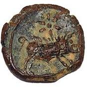 Quadrans - Iberia (Castullo mint) – reverse