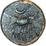 Semis Castulo (Oretanii, no obverse legend) – reverse