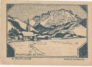 75 Heller (Hochfilzen in Tirol) – reverse