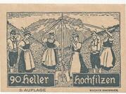 90 Heller (Hochfilzen in Tirol) -  reverse