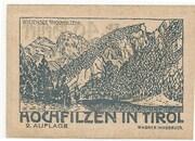 40 Heller (Hochfilzen in Tirol) – reverse