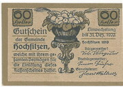 60 Heller (Hochfilzen in Tirol) – obverse