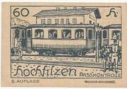 60 Heller (Hochfilzen in Tirol) – reverse
