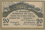 20 Heller (Hochfilzen in Tirol) -  obverse