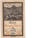 30 Heller (Hofgastein) – obverse