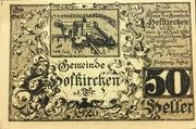 50 Heller (Hofkirchen an der Trattnach) – reverse