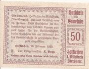 50 Heller (Hofkirchen im Mühlkreis) – reverse