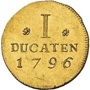 1 Ducat - Friedrich Ludwig – reverse