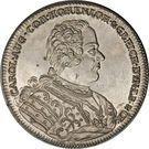 1 Thaler - Karl August (Death of Friedrich Eberhard) – obverse