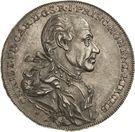 ½ Thaler - Christian Friedrich Karl – obverse