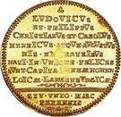 1 Ducat - Ludwig (Territorial division) – reverse