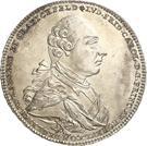 1 Conventionsthaler - Ludwig Friedrich Karl – obverse