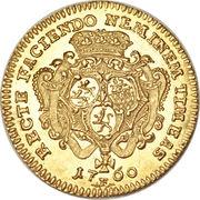 1 Ducat - Johann Friedrich II. – reverse