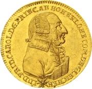 1 Ducat - Ludwig Friedrich Karl – obverse