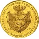 1 Ducat - Ludwig Friedrich Karl – reverse