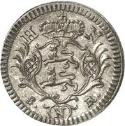 2-½ Konventionskreuzer - Ludwig Friedrich Karl – reverse