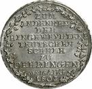 10 Kreuzer - Ludwig Friedrich Karl – reverse