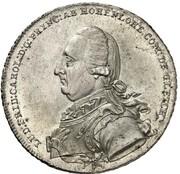 1 Thaler - Ludwig Friedrich Karl – obverse